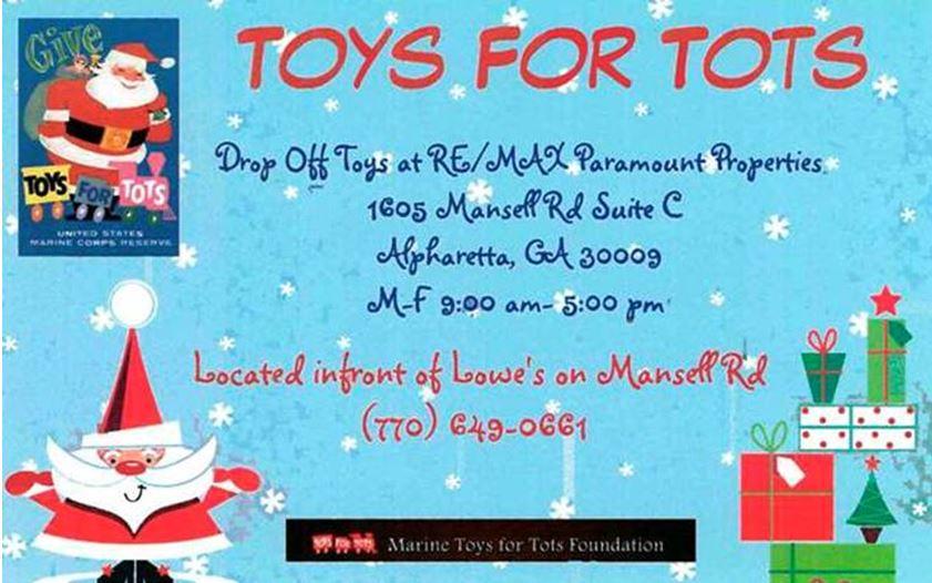 Toys For Tots Drop Off : Toys for tots alpharetta ga drop off center north