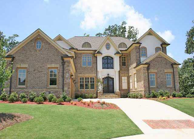 St amour johns creek enclave of estate homes north for New houses in georgia